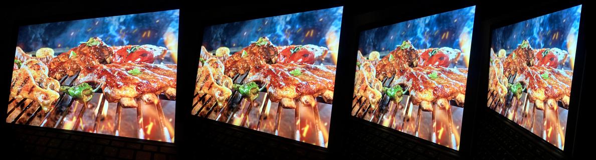 Surface Pro 7-視野角の広さ(画像)斜め横から