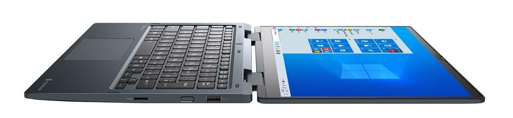 dynabook VZ/HP、VZ/HRの外観、平面モード