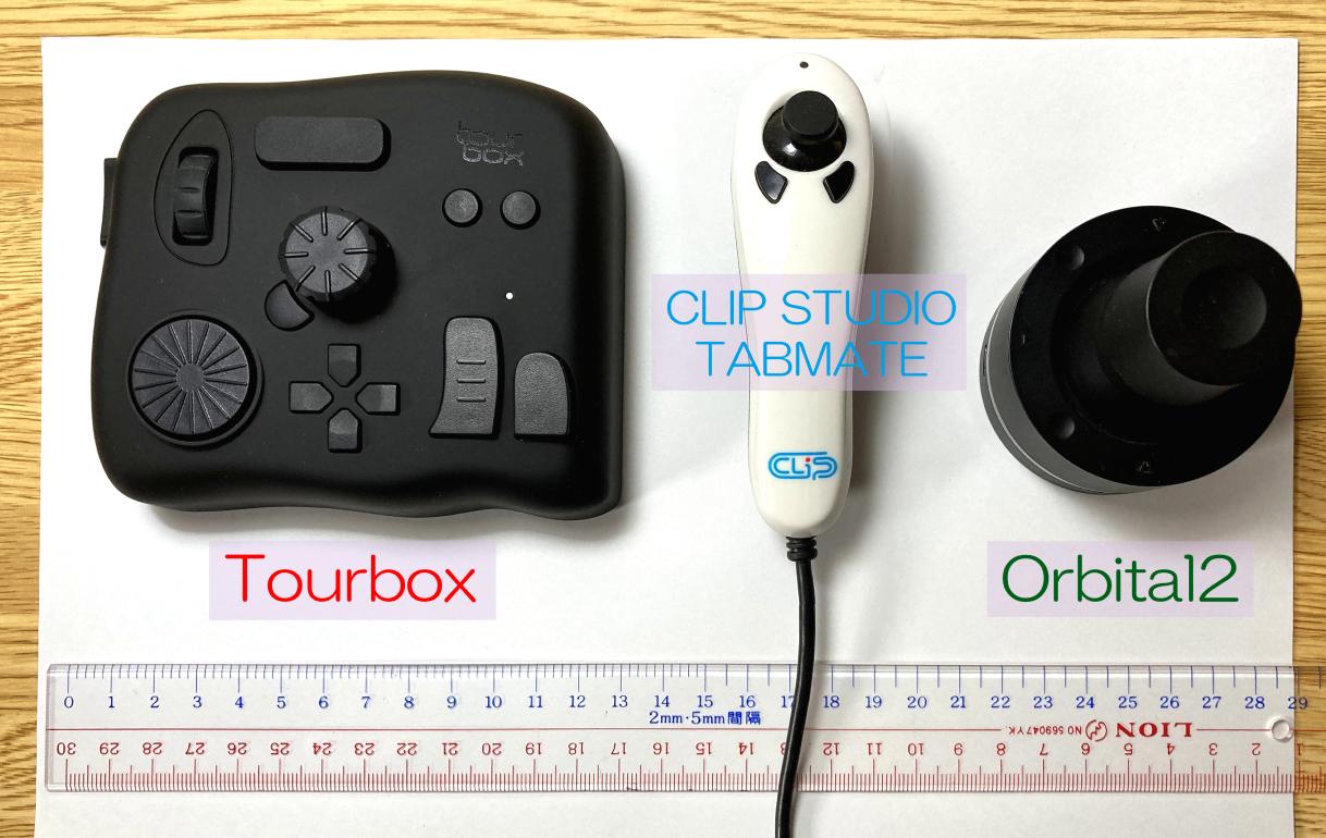 「tourbox」他社製品との違い