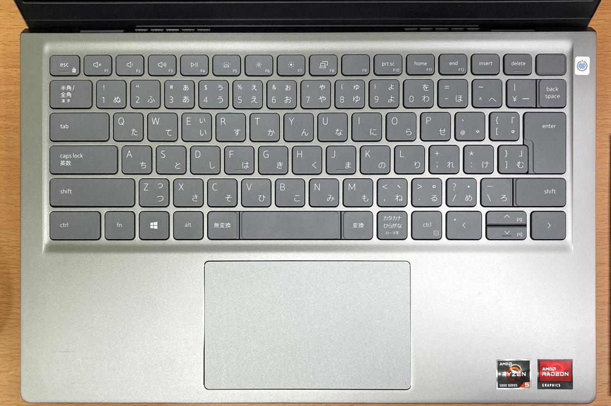 「Inspiron 14(5415)」のキーボード