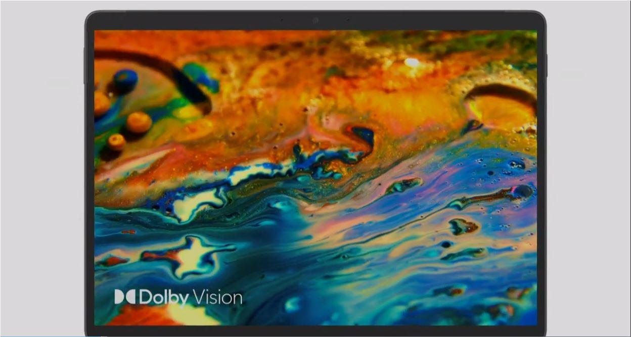 「Surface Pro 8」Dolby Vision(ドルビービジョン)対応の最大120Hzのリフレッシュレート (既定値: 60Hz)のヌルヌル動く液晶。