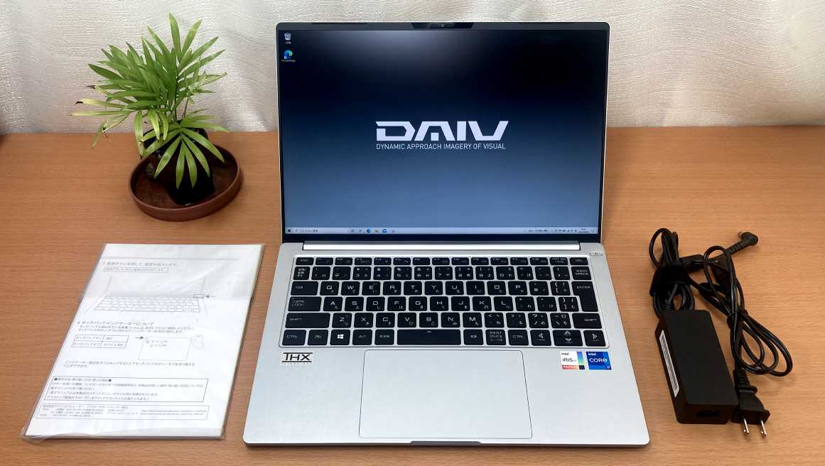 MOUSE「DAIV 4P」正面