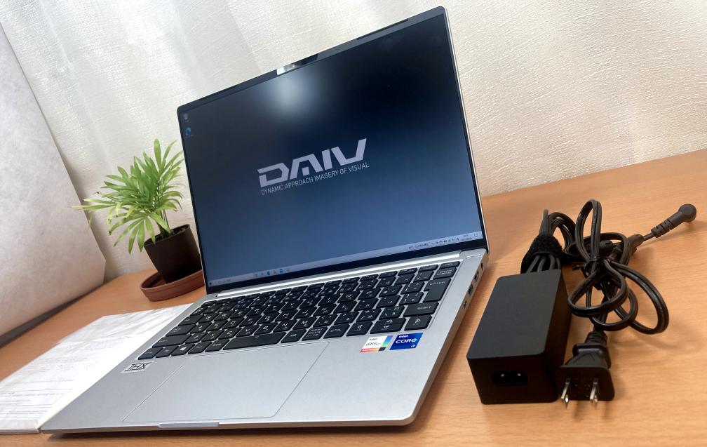 MOUSE「DAIV 4P」はオススメの14インチモデル